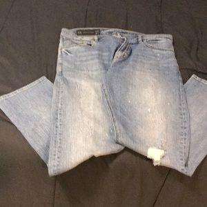 A/X  Armani Exchange Boyfriend Jeans
